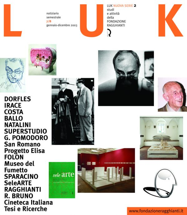 LUK n. 2/3 (7/8), gennaio-dicembre 2003
