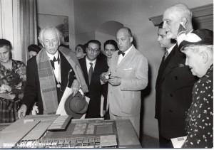 Ragghianti con Frank Lloyd Wright