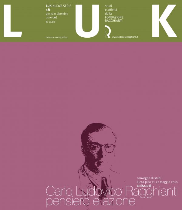 LUK n. 16 (21), gennaio-dicembre 2010