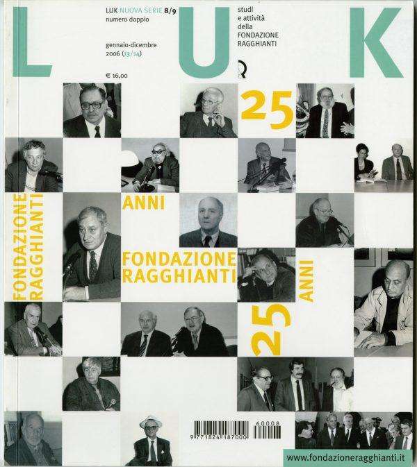 LUK n. 8/9 (13/14), gennaio-dicembre 2006